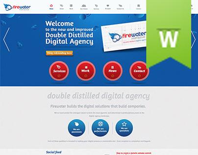 Firewater Interactive Responsive Website