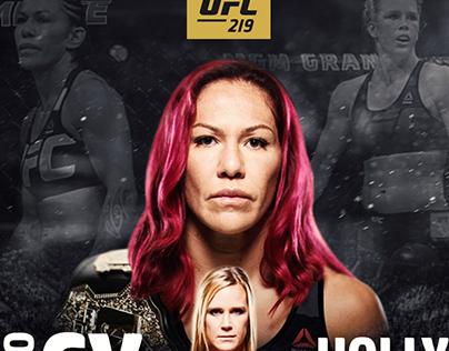 UFC 219 - Cyborg vs. Holm