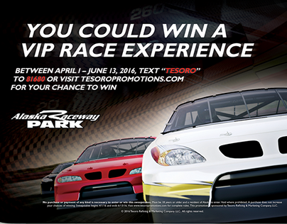 Tesoro VIP Race Experience