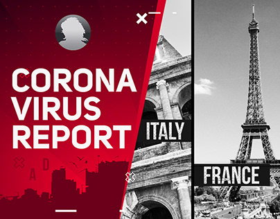 Coronavirus Report - After Effects Template