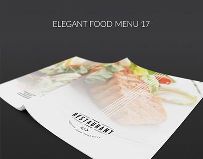 Elegant Food Menu 17