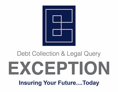 ExceptionFor Debt Collection & Legal QueryLogo