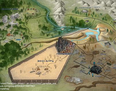 Map sketch