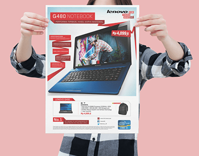 Lenovo Print Advertising