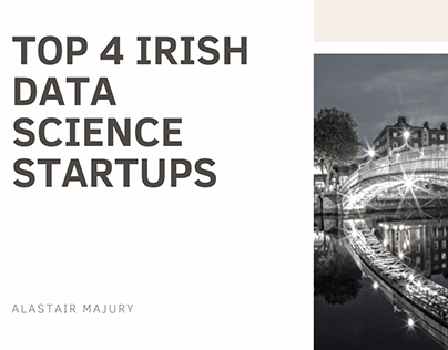 Alastair Majury | Top 4 Irish Data Science Startups