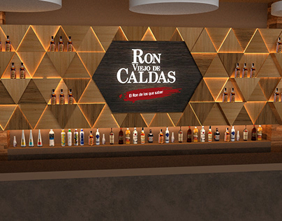 Backing Bar Ron Viejo Caldas