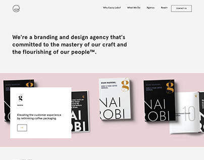 Eazzy Labs Landing Page
