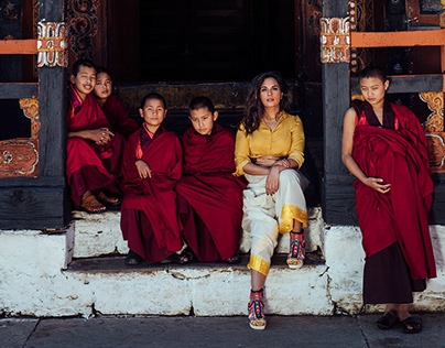 Richa Chadha for Travel + Leisure India Digital Covers