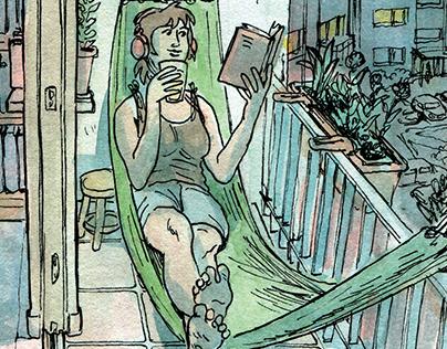 Ambra - comics about Polish ciders