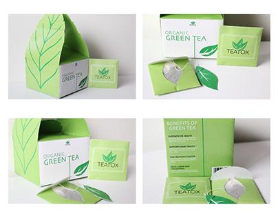 Green Tea Packaging Project