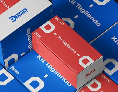 D-Parts Brand Identity
