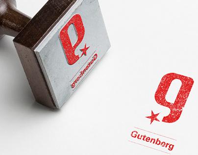 Rebranding du Gala Gutenberg (2013)
