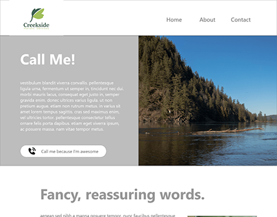 Creekside Holistic Rebrand/Website