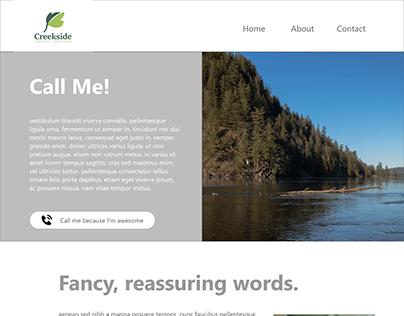 Creekside Holistic Rebrand/Website