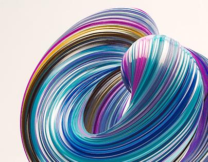 Spirals UI Wallpaper Set