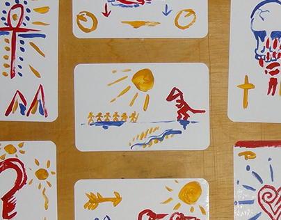 Painted Cards (2013)