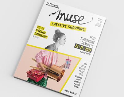 Magazine Muse#1 - Projet, pour l'agence Matador.