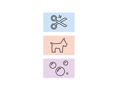 My Lovely Dog Identity Design