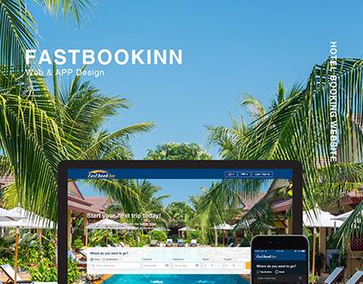 Hotel booking web & APP design