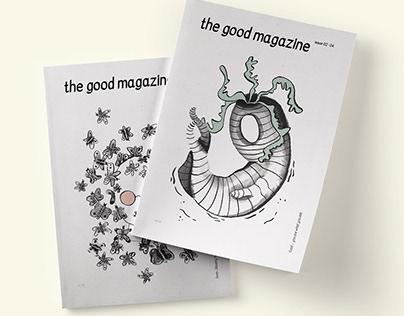 cover design »the good magazine«