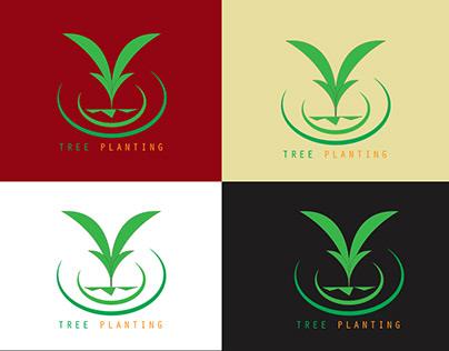 Tree Planting Logo Design