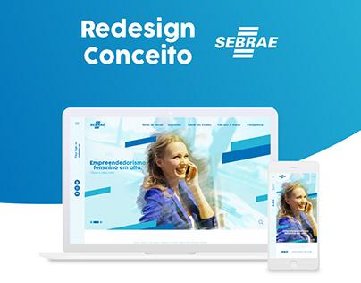 Portal Sebrae | Redesign Conceito