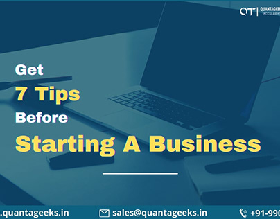 Get 7 tips before starting a business