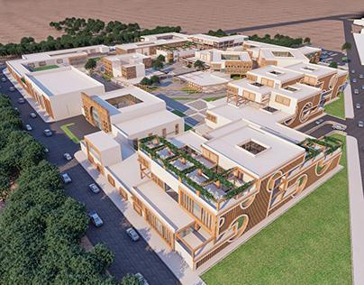 Visualization Of Rehabilitation Center Project