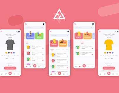 Shopping App Desing