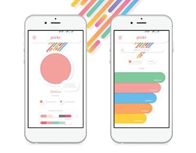 Pickr App