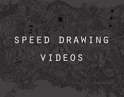 SPEED DRAWING VIDEOS