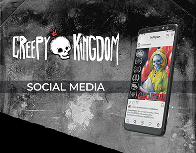 Creepy Kingdom Podcast Network | Social Media