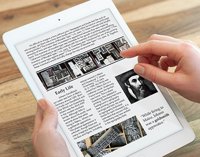 Johannes Gutenberg Biography Article