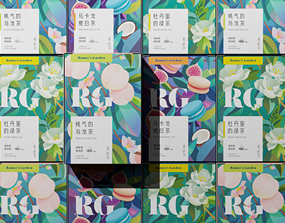 RG | LC TEA Collection Packaging Design