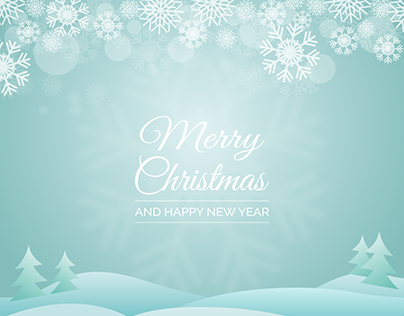 Free Christmas & New Year Greeting Vector - PNG+SVG