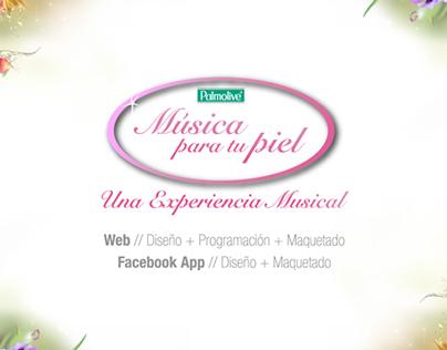 PALMOLIVE / Web + FB App