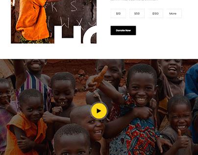 Non-Profit website~Charity
