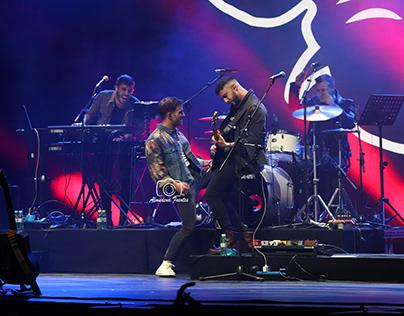 Alvaro de Luna en concierto