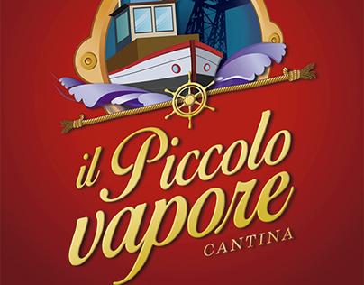 Isologotipo y sitio web para Il Piccolo Vapore cantina