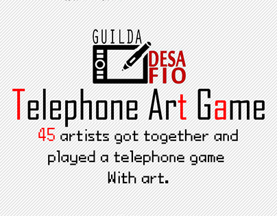 Telephone Art Game