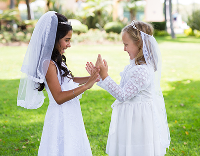 Riley & Cecilia First Holy Communion