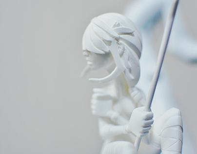 Wild - Handmade Figure