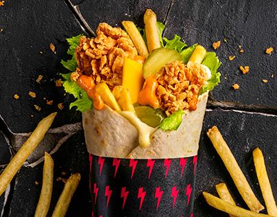 KFC Twister - Retouch
