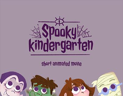 Spooky Kindergarten short animated movie
