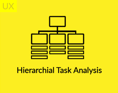 UX Approach - Hierarchical Task Analysis