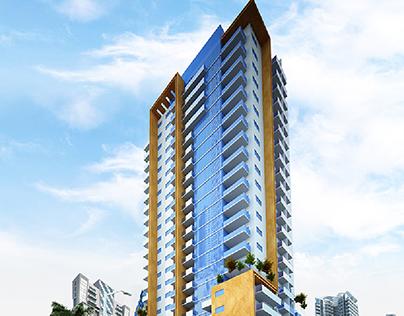 G + 22 Residential Building in Dubai