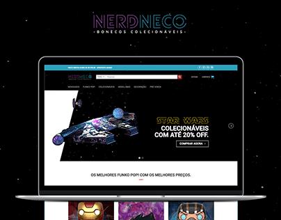 Loja Virtual/Web Site NerdNeco - Colecionáveis
