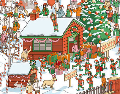 Christmas Card: Can You Find The Hidden Claus?