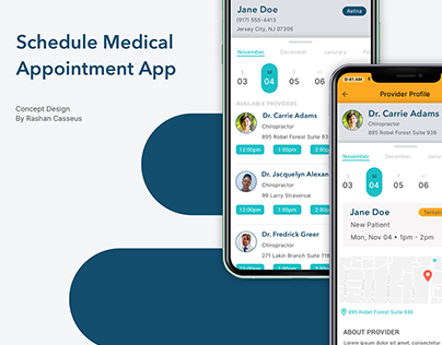 Schedule Medical Appointment App