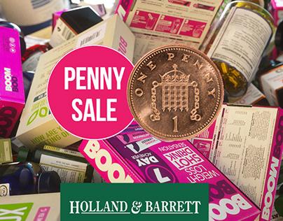 Holland & Barrett - The Penny Sale - TV Commercials